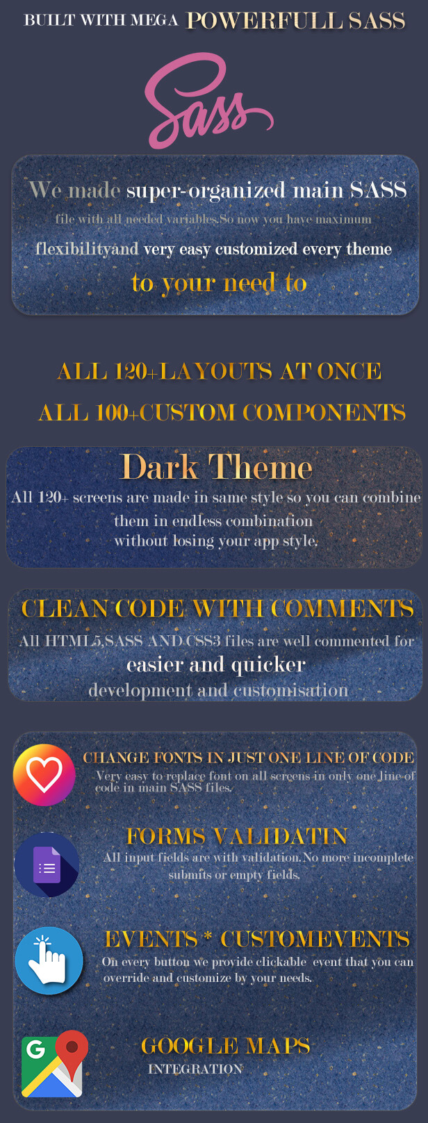 Ionic 5 UI Theme Template Introduce