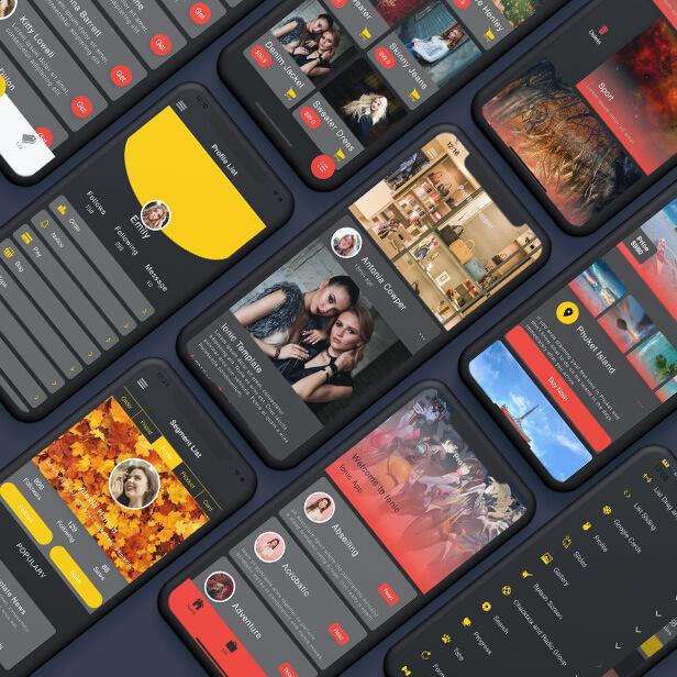 IIonic 5 UI Theme Template App